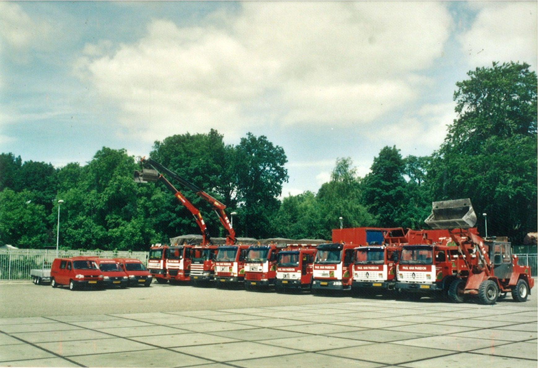 Wagenpark 2003